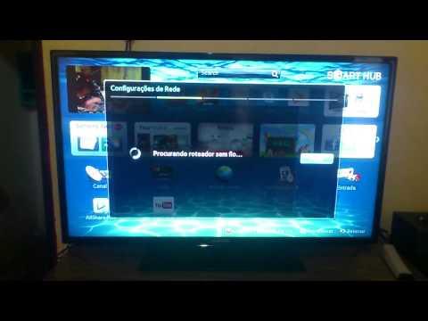problema ao conectar o wifi da tv samsung eh5300
