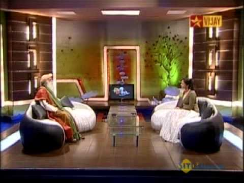 1-Sadhguru Jaggi Vasudev - Coffee With Anu - Vijay TV