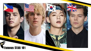 Top 10 Most Handsome Men In The World 2018 - BTS Kim Tae-hyung (V) of South Korea is on No.1 Spot!