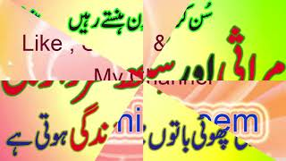 funny talking of marasi or sikh sardar g heart touching things having beautiful life by BEENI NAEEM