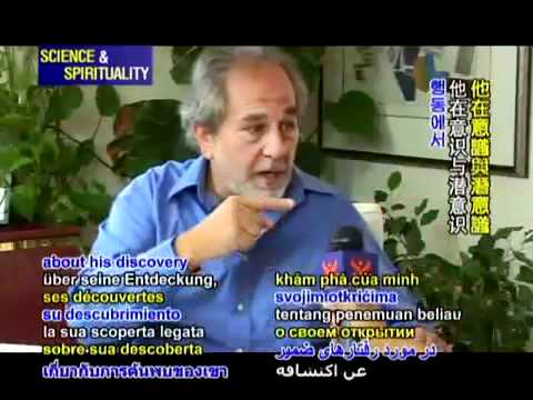 Dr. Bruce Lipton – Biology of Belief – Plant-Based Environment = Healthy Humans