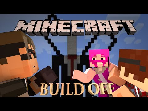 Minecraft SLENDERMAN BUILD OFF! Ft. MunchingBrotato, SkyDoesMinecraft, Mlghwnt, and AviatorGaming