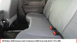 2018 Ram 3500 Chassis Cab Odessa TX JG394845