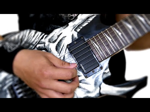 Como tocar Sweep Picking 3 cuerdas Ejercicio - Con partitura y backing track