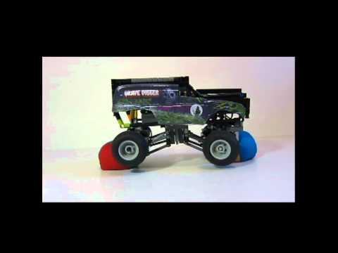 Grave Digger Monster Truck Build Lego Mini Grave Digger Monster