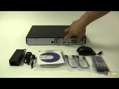32 Channel Elite Mini Network Video Recorder Unboxing - NVR-ELM-32