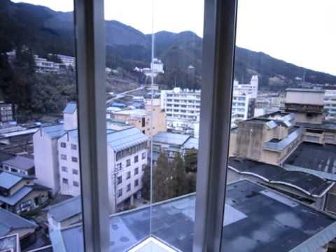 下呂温泉 水明館 展望風呂