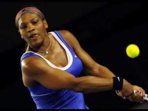 Serena Williams vs Tamira Paszek at Australian Open 2012 Day 2 -- First Round Photos