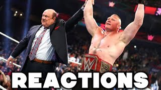 WWE Extreme Rules 2019 Reactions