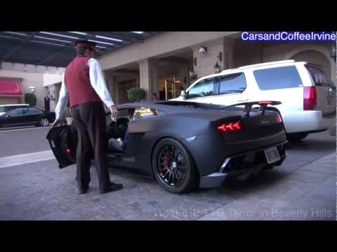 1,500HP Twin Turbo Lamborghini Says 'Hi' To Beverly Hills