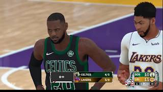 2KCS 3rd Game3 Celtics(俊宏) @Lakers(小高) 102 : 137
