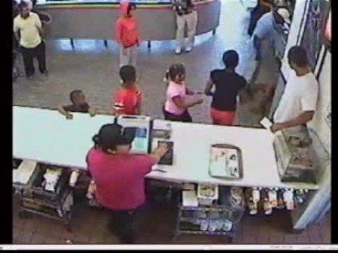 Man punches teenage girl at McDonald