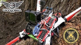12S Cannonball 800 | X-Class Giant Racing Drone | Maiden Flight