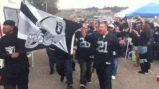 Raider Ralph. The Raider Nation invades San Diego