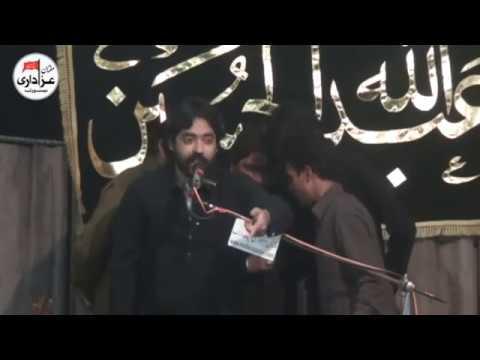 Zakir Imran Abbas Turabi | Majlis 20 Safar 2017 | Yadgar Qasiday And Masiab |