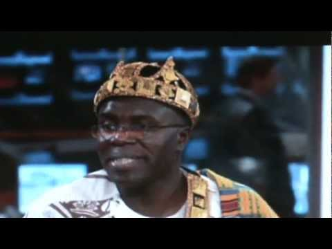 KING AYI TALKS ABOUT HIS VISIT TO PRESIDENT OBAMA INAUGURATION CEREMONY AND HIS WORK IN TOGO