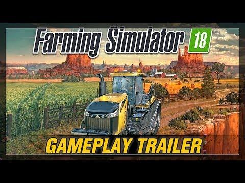 LS18 GAMEPLAY   FARMING SIMULATOR 18  TRAILER (MOBILE) Full HD Hardware Hirsch