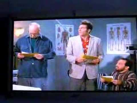 Seinfeld-Kramer &Mickey with Medical Students Part 4