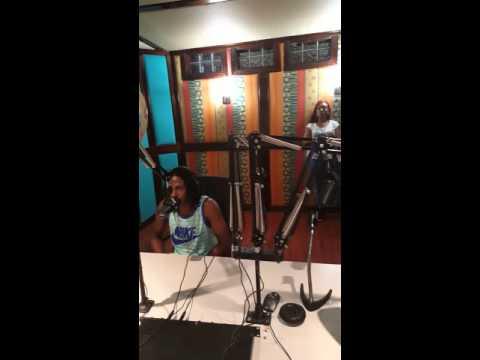 BRAINTEAR SPOOKIE INTERVIEW AT HOT 102 JAMAICA RADIO STATION