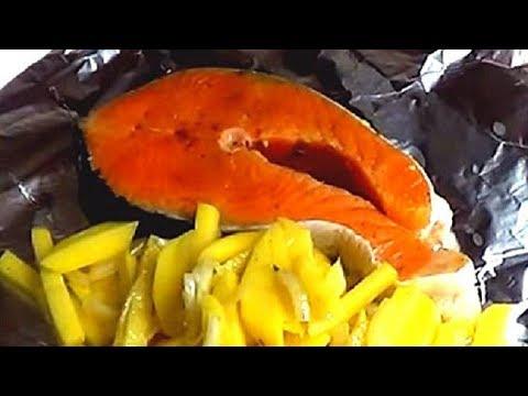 Простые и вкусные рецепты. Рыба в фольге запеченная в духовке.