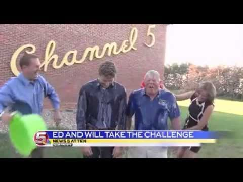News 5 Sports - Will and Ed take the ALS Ice Bucket Challenge / August 19, 2014