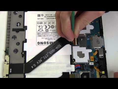 How to Replace Your Samsung Galaxy Tab 10.1 SCH-I905 Battery