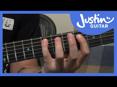 Lesson Bass - 12 Bar Blues Rock In A Bass Only Interm