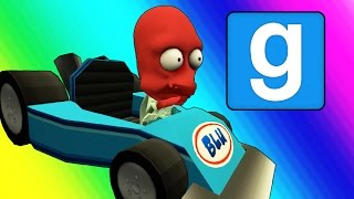 Gmod Hide and Seek Funny Moments - Dangerous Roads! (Car Edition)