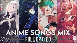 Download lagu Anime Openings & Endings Compilation #2 [FULL ANIME SONGS MIX]
