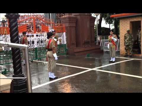 Wagah Border Closing video