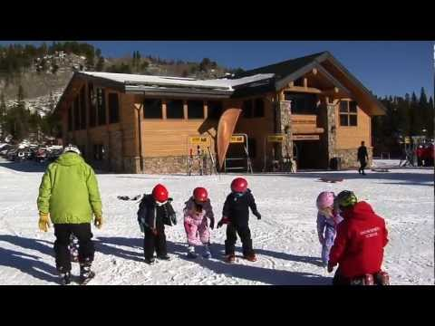 Gromfest USA! Kids learn to ski at Eldora Mountain Resort in Colorado