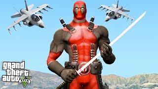 GTA 5 Mods Showcase : Deadpool! (GTA 5 Funny Moments)