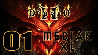 Imon Plays [Diablo II (Median XL 1.3)] #01 Sorceress 都係Lightning
