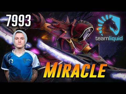 Miracle Anti Mage True Carry - 7993 MMR - Dota 2 Patch 7.07