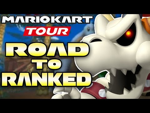 Mario Kart Tour - Is F2P 10,000+ Possible in Dino Dino Jungle?  ROAD TO RANKED!