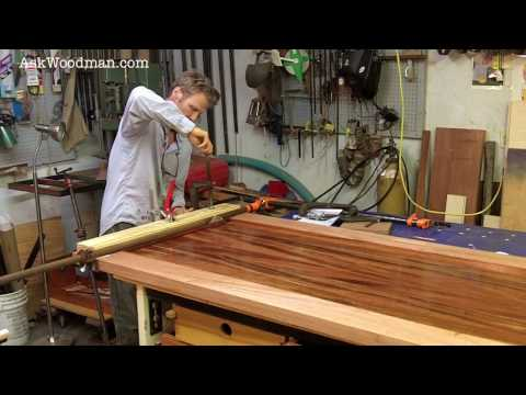How To Clamp Mortise and Tenon Joints - SOLID WOOD DOOR SERIES - Video 9