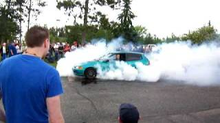 K20a2 4th gear burnout