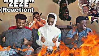Kodak Black - ZEZE (feat. Travis Scott & Offset) (REACTION VIDEO)