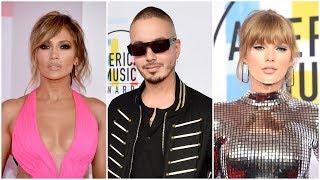 J Balvin entre los mejores vestidos de los American Music Awards