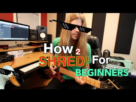 Lesson Guitar - Beginners Guide To Shredding Part 2
