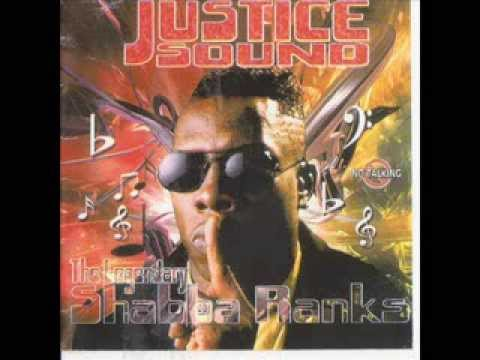 SHABBA RANKS, JUSTICE SOUND. REGGAE DANCEHALL DUB MIX  TRIBUTE TO THE 2 TIME GRAMMY WINNER.