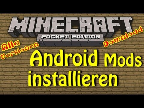 Android! Minecraft PE! Wie man Mods installiert! NO ROOT! DOWNLOAD! Fly in Survival. ...