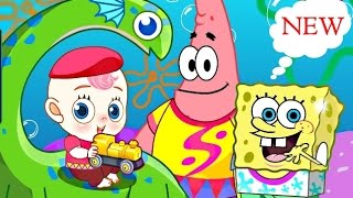 SpongeBob And Patrick Babysit - Baby Care And Dress Up Games For Kids