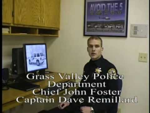 GRASS VALLEY CALIFORNIA POLICE DEPARTMENT
