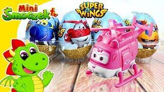 Super Wings: Frunia Otwiera Jajka Niespodzianki | Zabawki Bajki Dla Dzieci Po Polsku