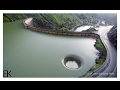 Overflowing Glory Hole Spillway at Lake Berryessa Drone Report - Lake Berryessa News 2-18-17