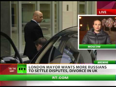 London = Divorce: UK welcomes sue-happy oligarchs