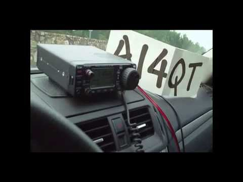 Icom703Plus QRP Mobile-Portable