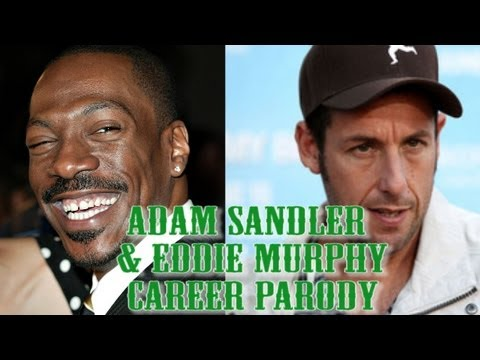 Adam Sandler-Eddie Murphy Movie Parody Trailer (Cameo By Jim Carrey)