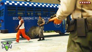 GTA 5 EPIC PRISON BREAK HEIST!! -  GTA 5 Online NEW Heists - (GTA 5 Funny Moments)